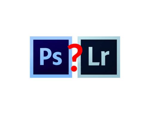 Meglio Lightroom oppure Photoshop?